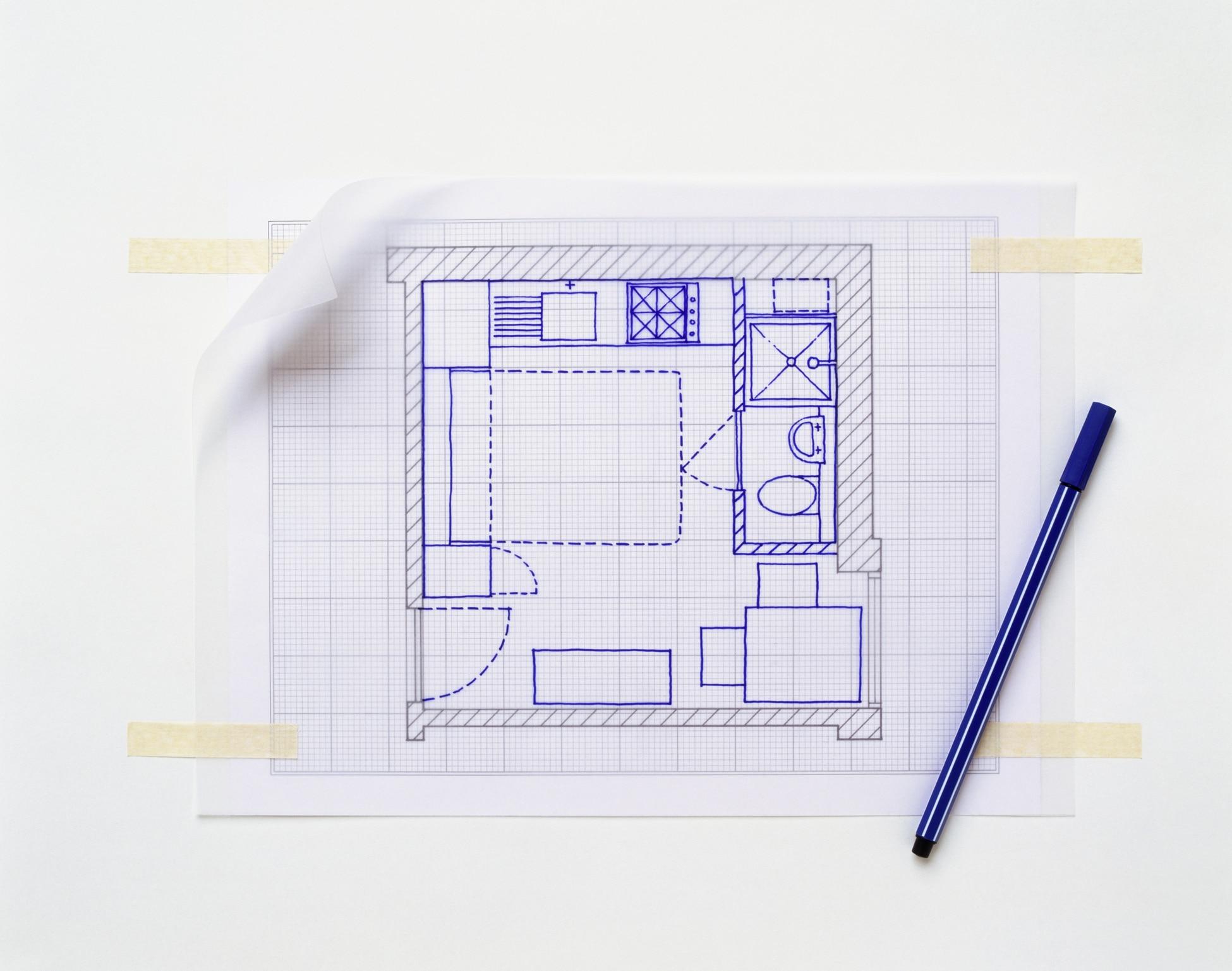 Comment faire un plan de maison sur papier